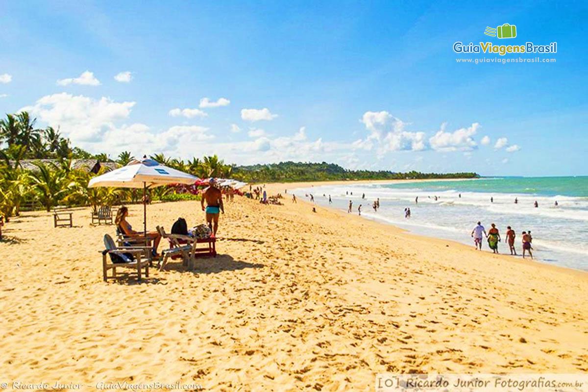 Foto Praia de Nativos, em Trancoso, BA.