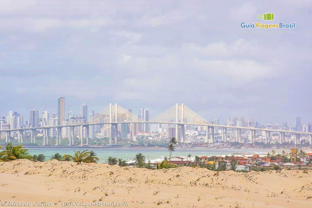 Foto Ponte Newton Navarro, Natal, RN.