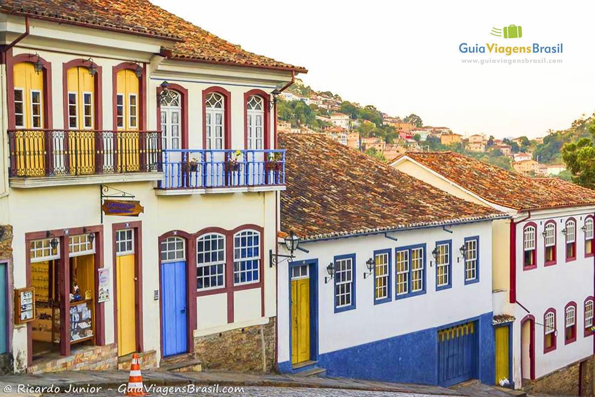Foto Centro Histórico de Ouro Preto, MG.