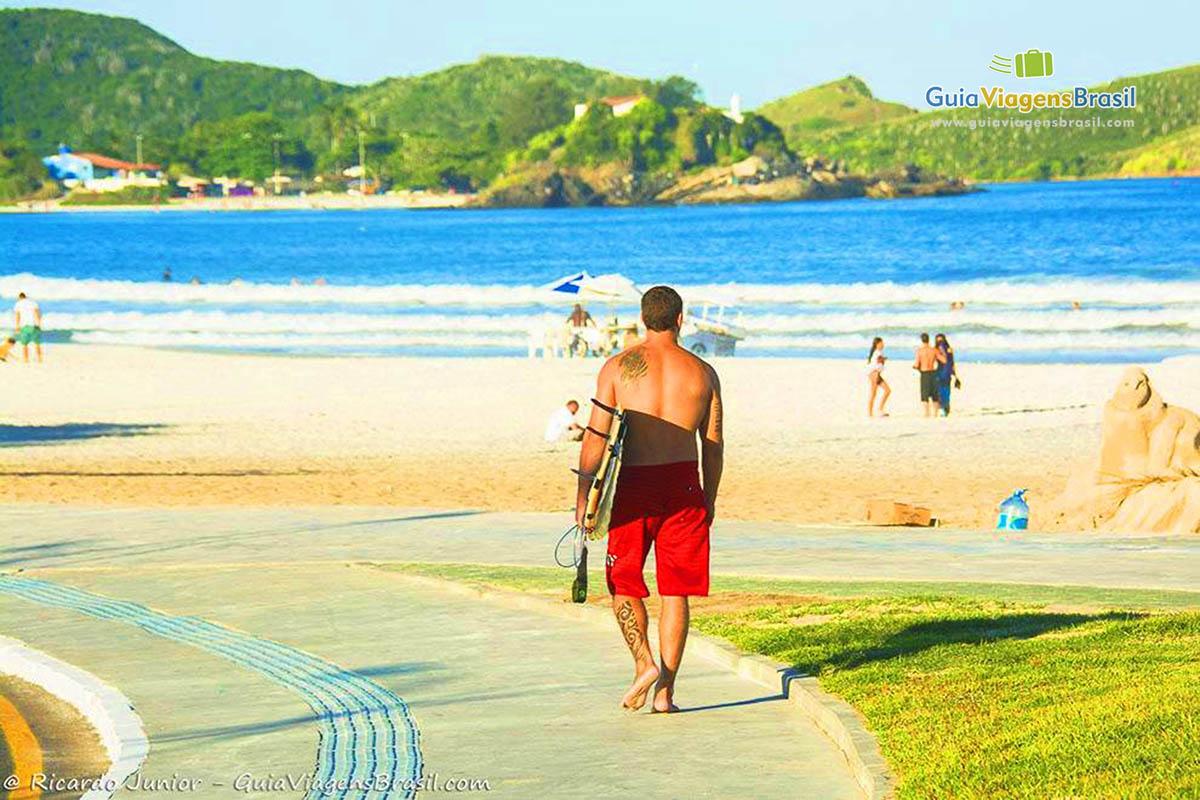 Foto Praia do Forte, Cabo Frio, RJ.
