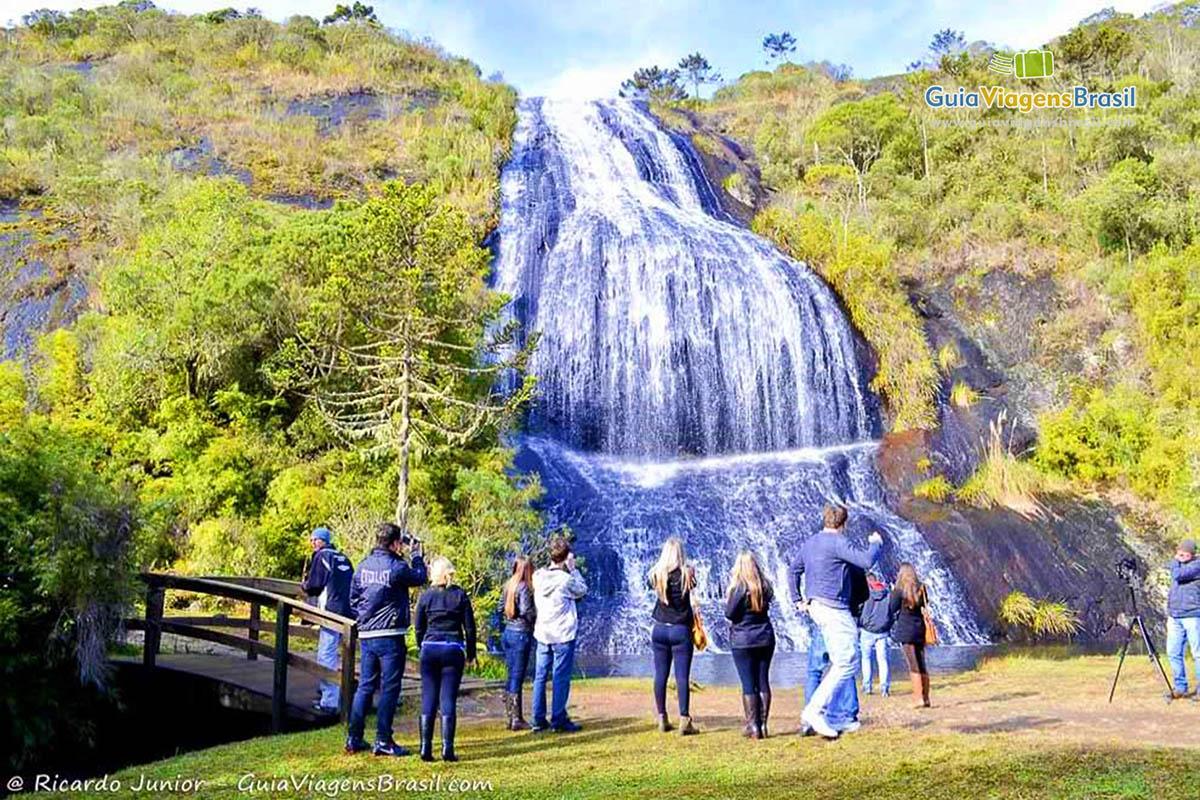 Foto Cascata Véu da Noiva , Urubici, SC.