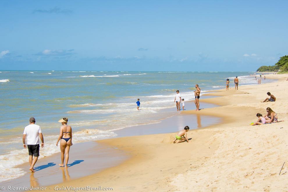 Foto Praia do Apaga Fogo, BA.