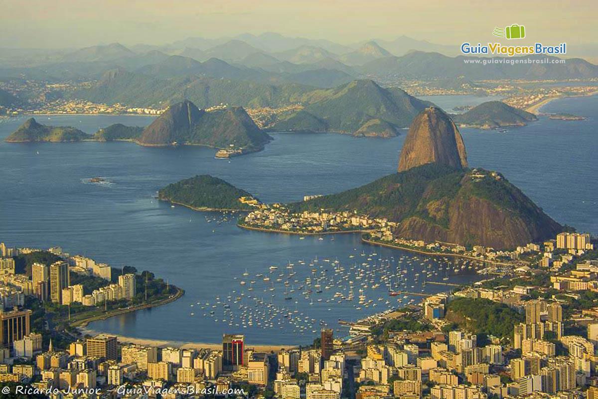 Foto Vista Aérea Rio de Janeiro, RJ.