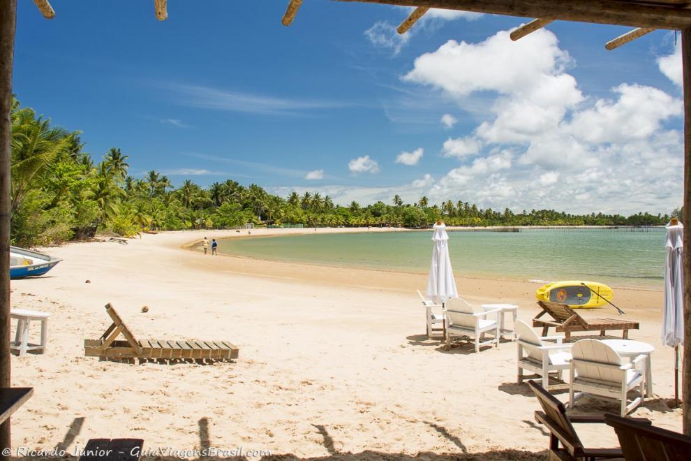 Foto Praia do Mutá, Península de Maraú, BA.
