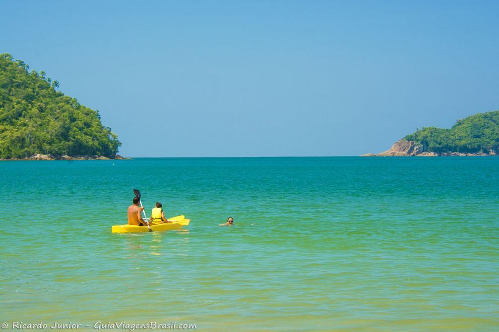 Foto Praia da Almada, Ubatuba, SP.