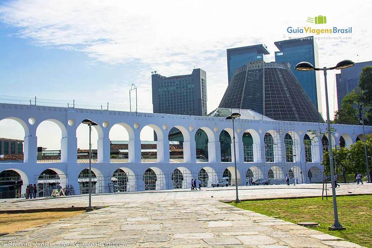 Foto Arcos da Lapa, Rio de Janeiro, RJ.