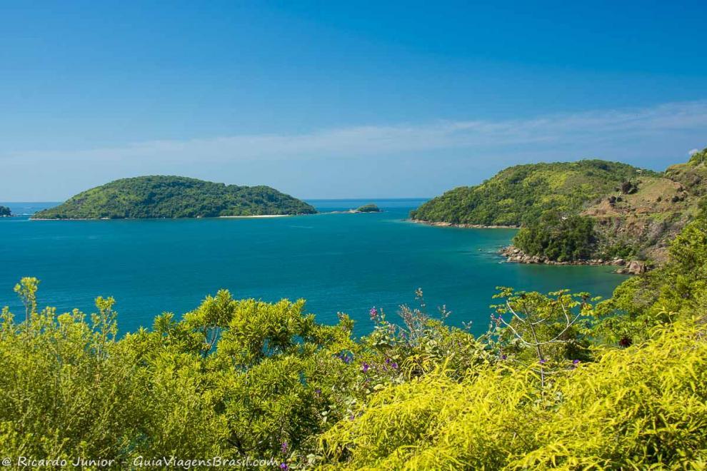 Foto Ilha de Prumirim, Ubatuba, SP.
