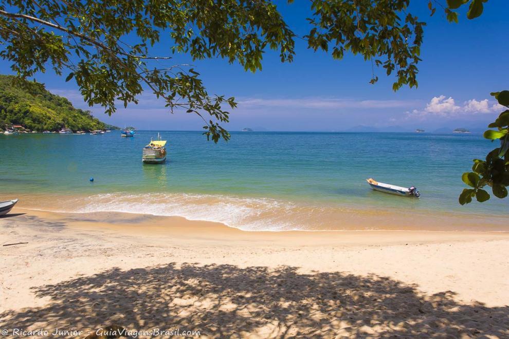 Foto Praia de Picinguaba, em Ubatuba, SP.