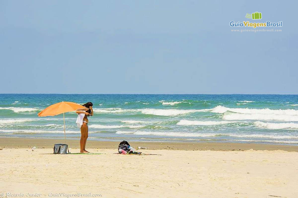 Foto Praia da Boracéia, Bertioga, SP.