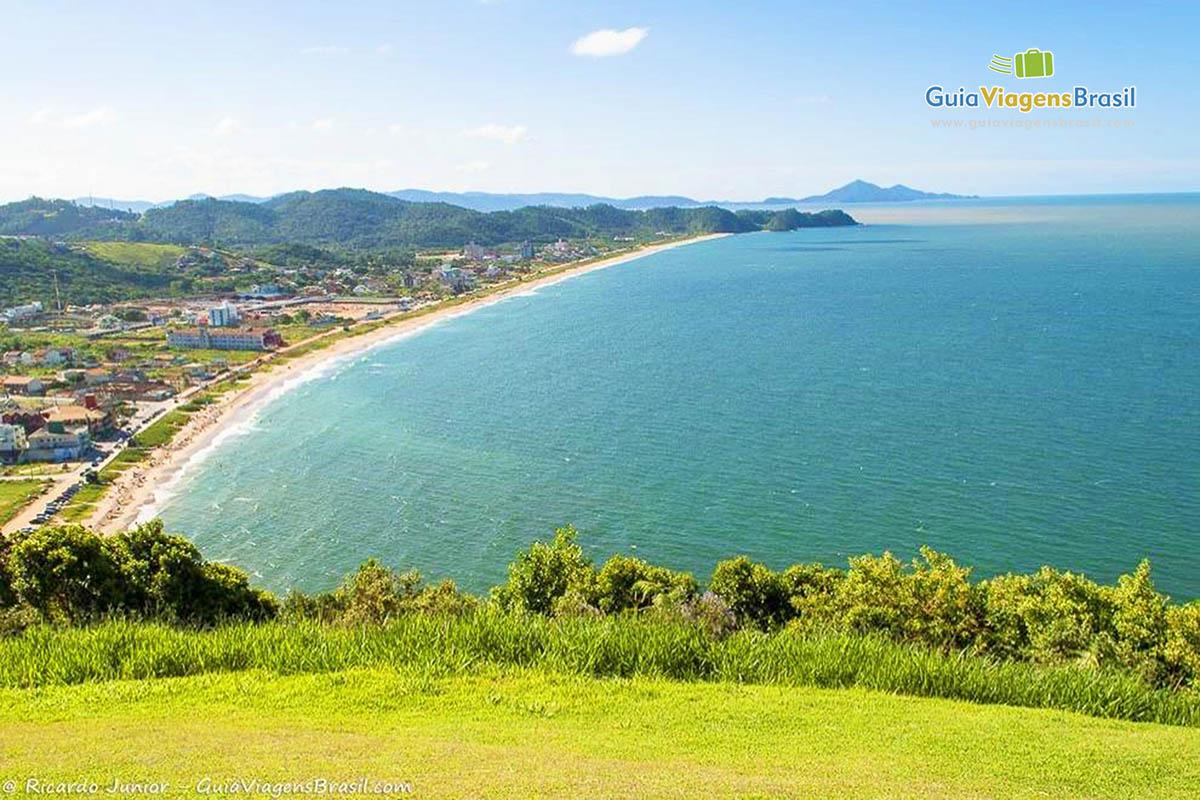 Foto mirante Praia dos Amores, Balneário Camboriú, SC.