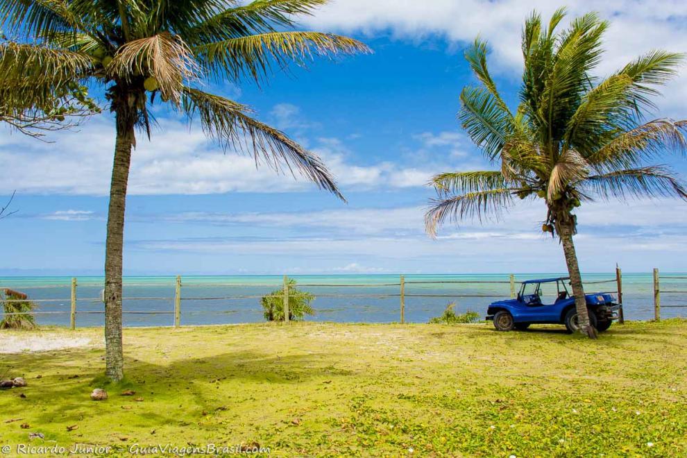Foto passeio de bugue, Caraíva, BA.