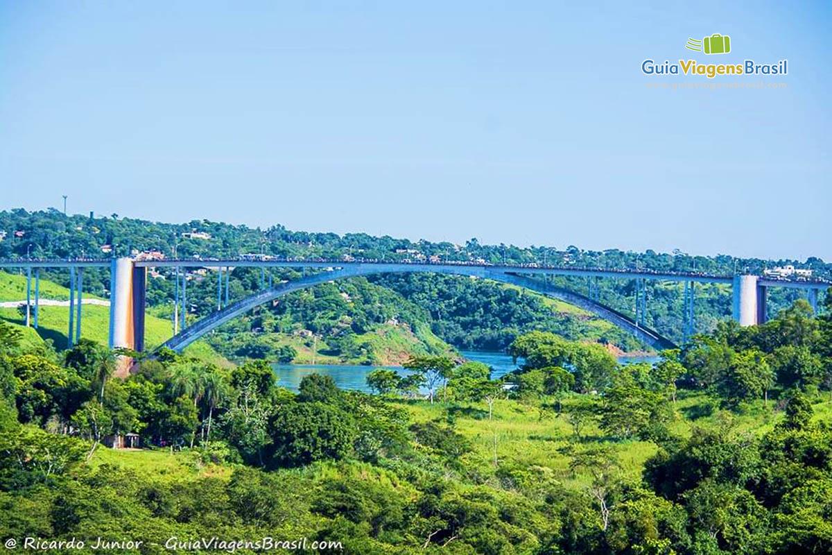 Foto Ponte da Amizade, Foz do Iguaçu, PR.