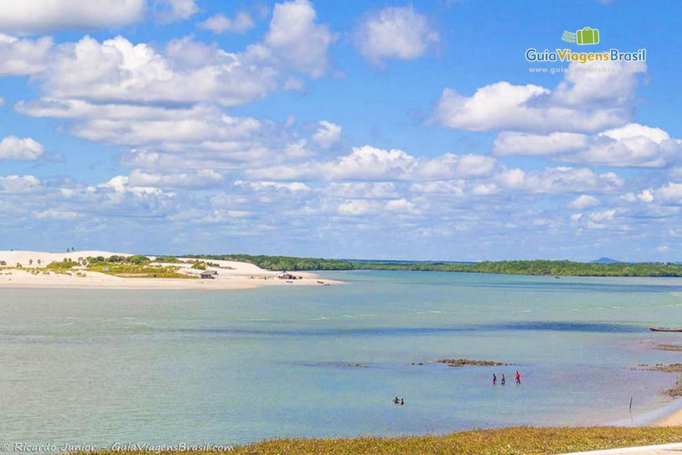 Foto radisíaca Praia da Barra dos Remédios, Ceará.