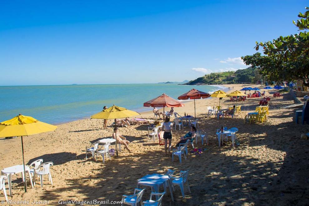 Foto praia de Anchieta, ES.