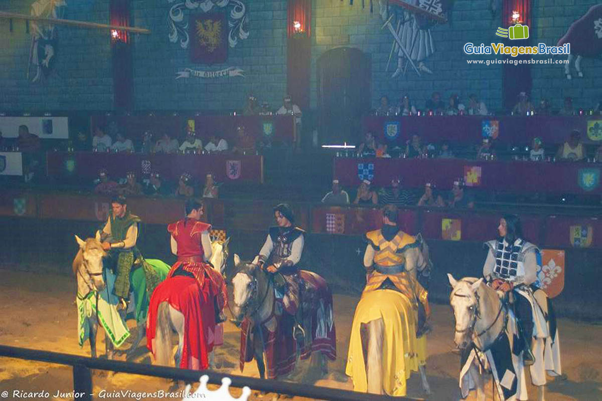 Foto show Excalibur, no Beto Carrero World, SC.