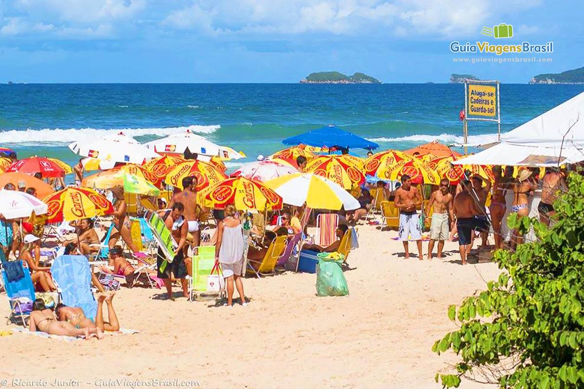 Foto orla Praia Brava, Florianópolis, SC.