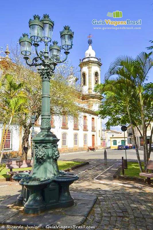 Foto Igreja Nossa Senhora do Carmo, em São João Del Rei, Minas Gerais.