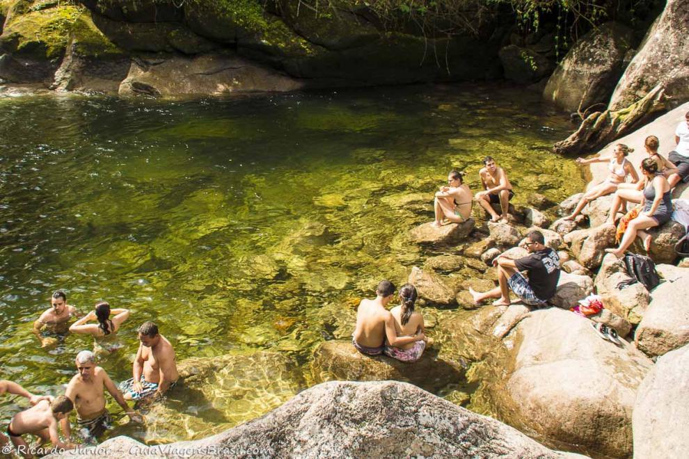 Foto Cachoeira da Maromba no Parque Nacional de Itatiaia, RJ.