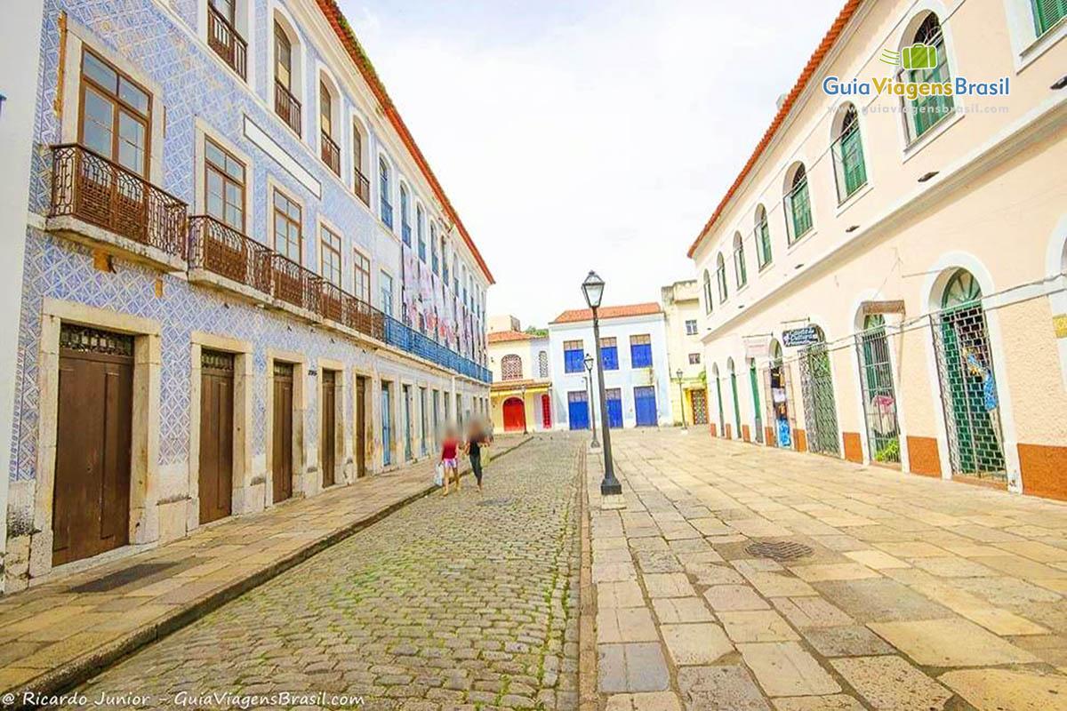 Foto centro histórico de São Luís, MA.